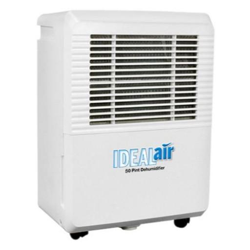 """IDEAL AIR"" BRAND 50 PINT DEHUMIDIFIER – UNUSED AS NEW"
